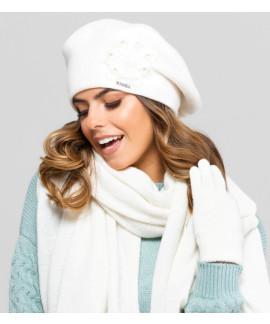 Élégant beret en laine pour femmes, Sewilla